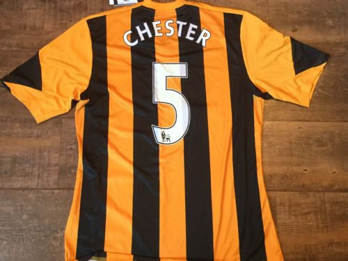 2013 2014 Hull City BNWT New Chester Home Football Shirt Adults Medium